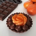 chocolate-and-clementine-tartlet