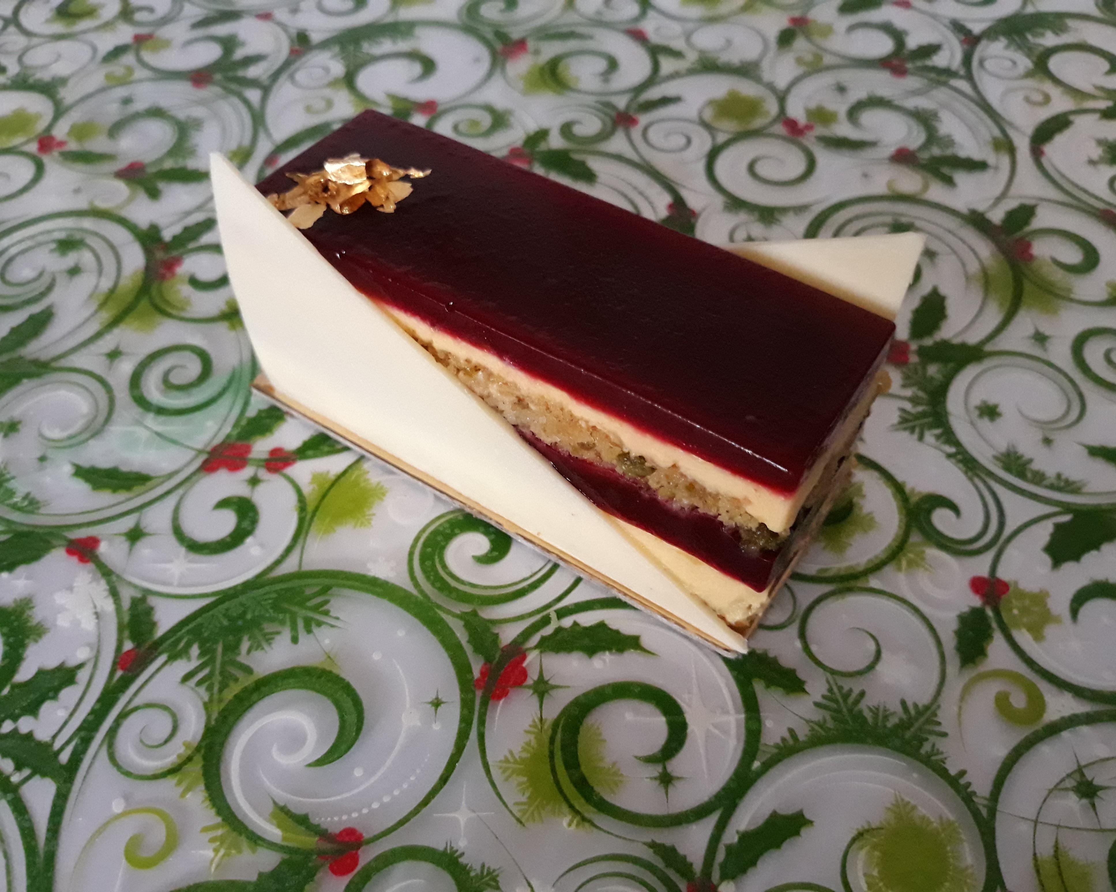 Christmas Opera Cake