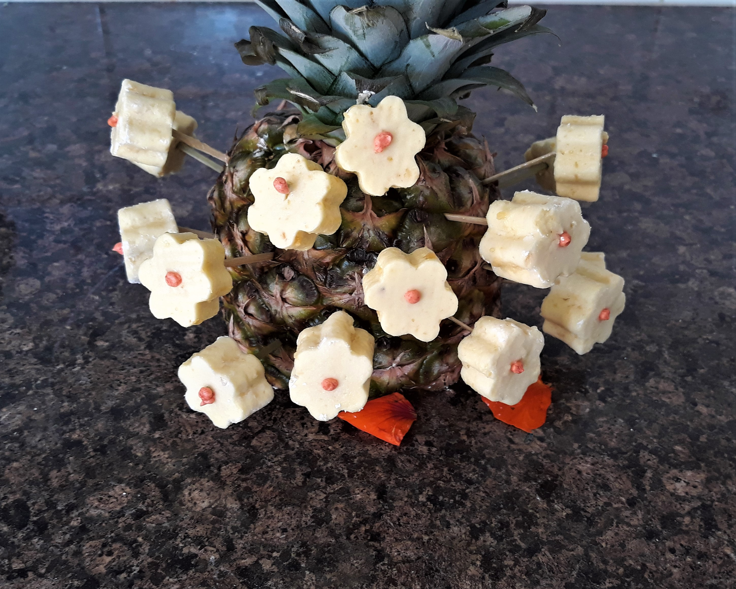 pineapple-marshmallows