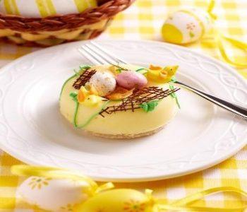 Vegan lemon dessert